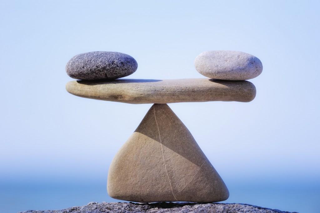 Mantendo o equilíbrio na meditação